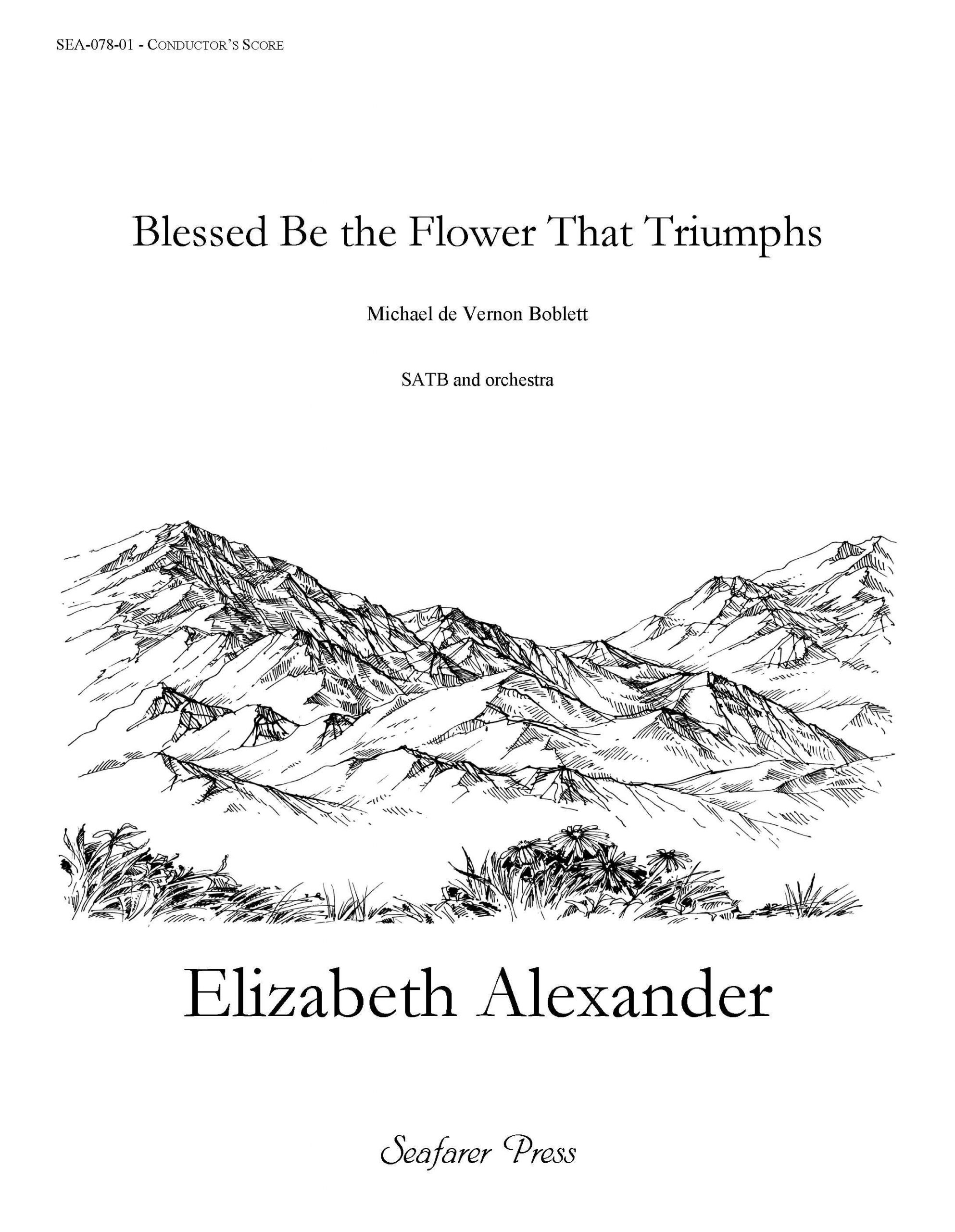 SEA-078-01 - Blessed Be the Flower That Triumphs