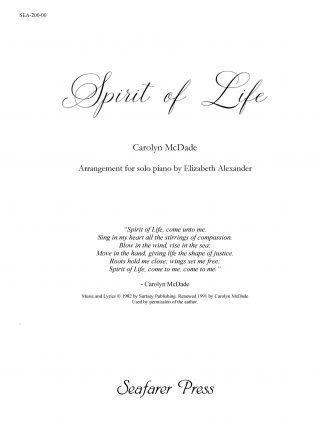 Spirit of Life (McDade, arr. Alexander)