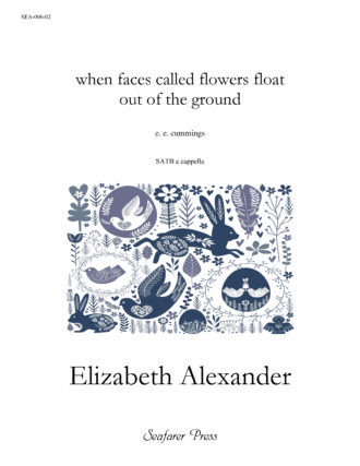 when faces called flowers float out of the ground