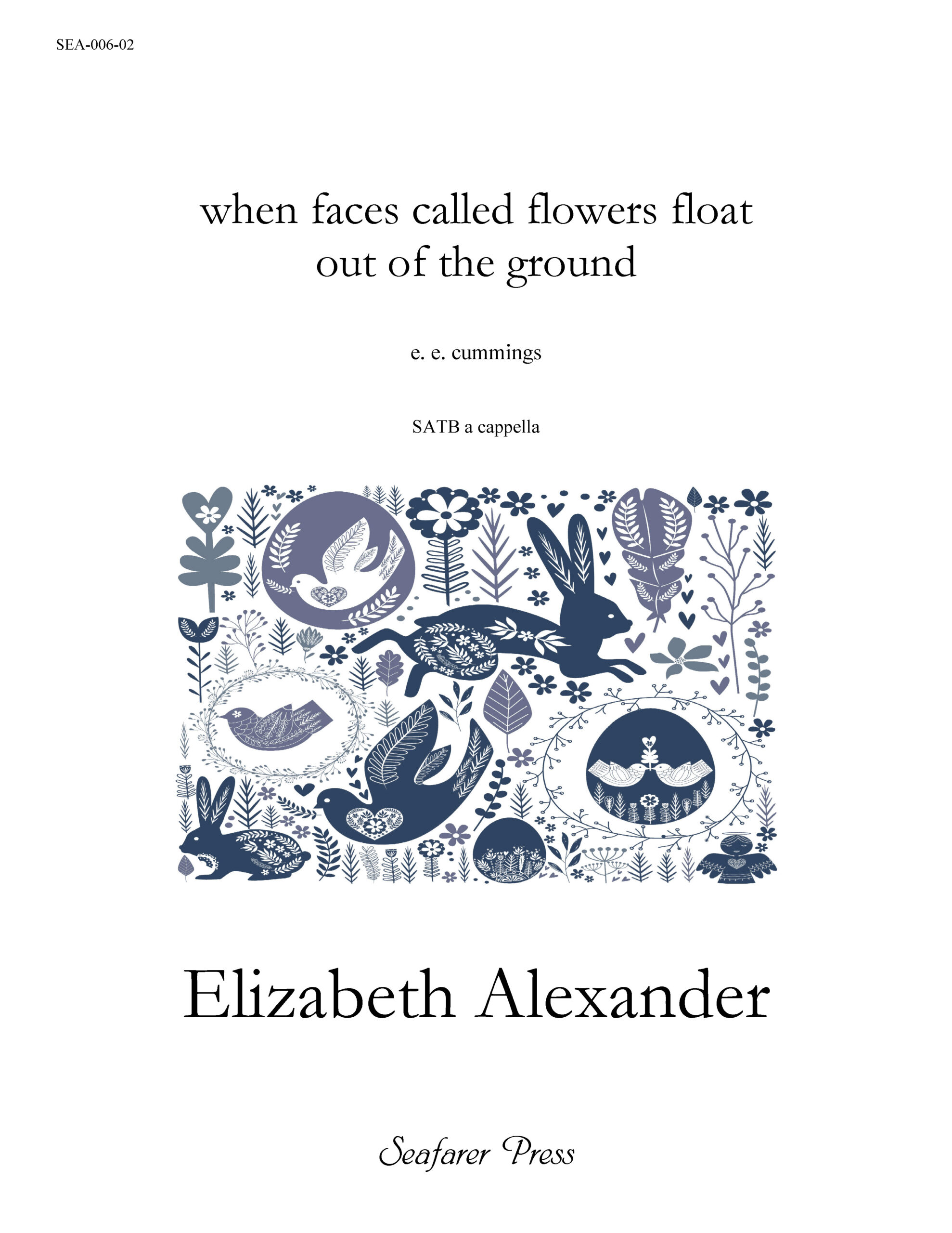 SEA-006-02 - when faces called flowers float out of the ground
