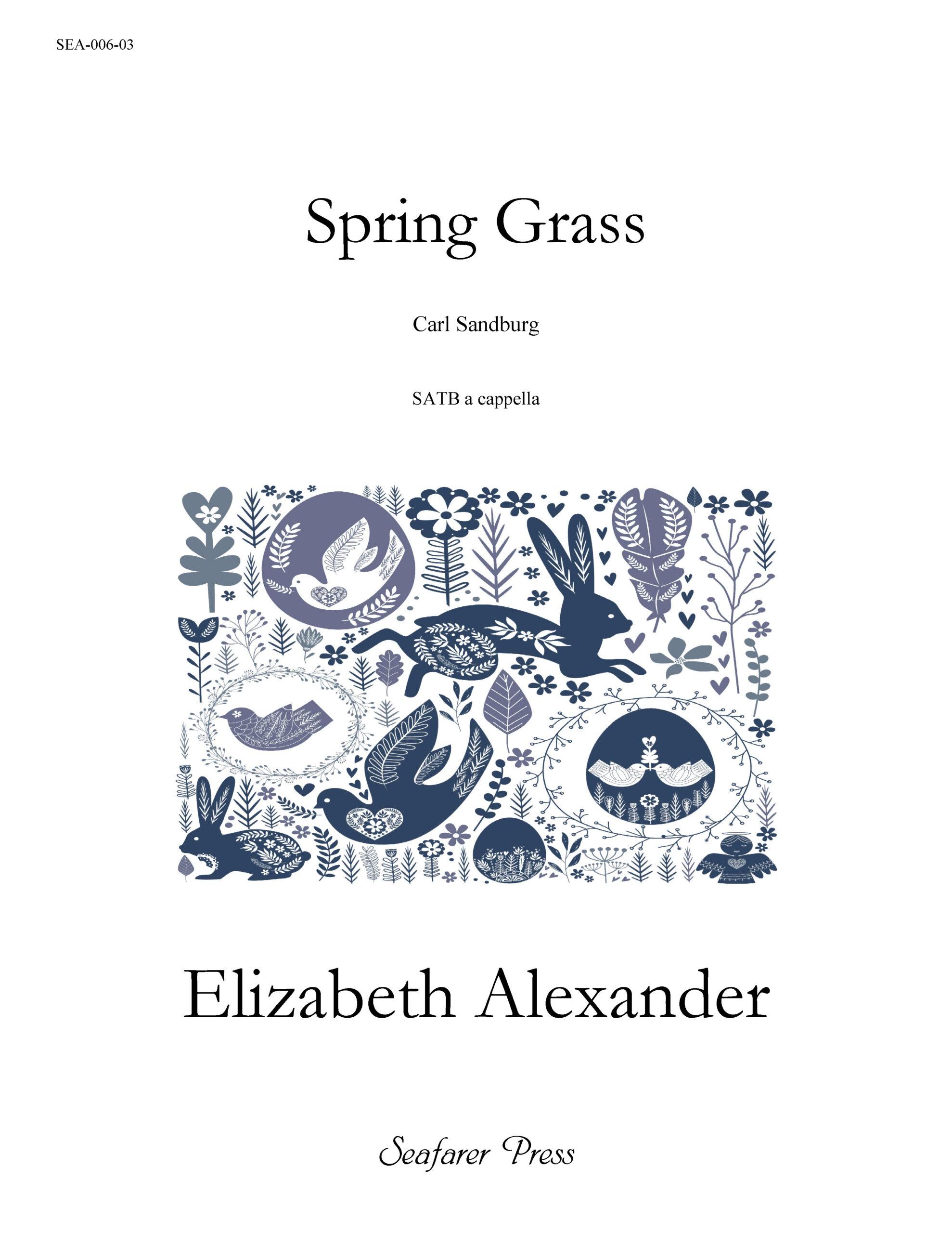 SEA-006-03 - Spring Grass