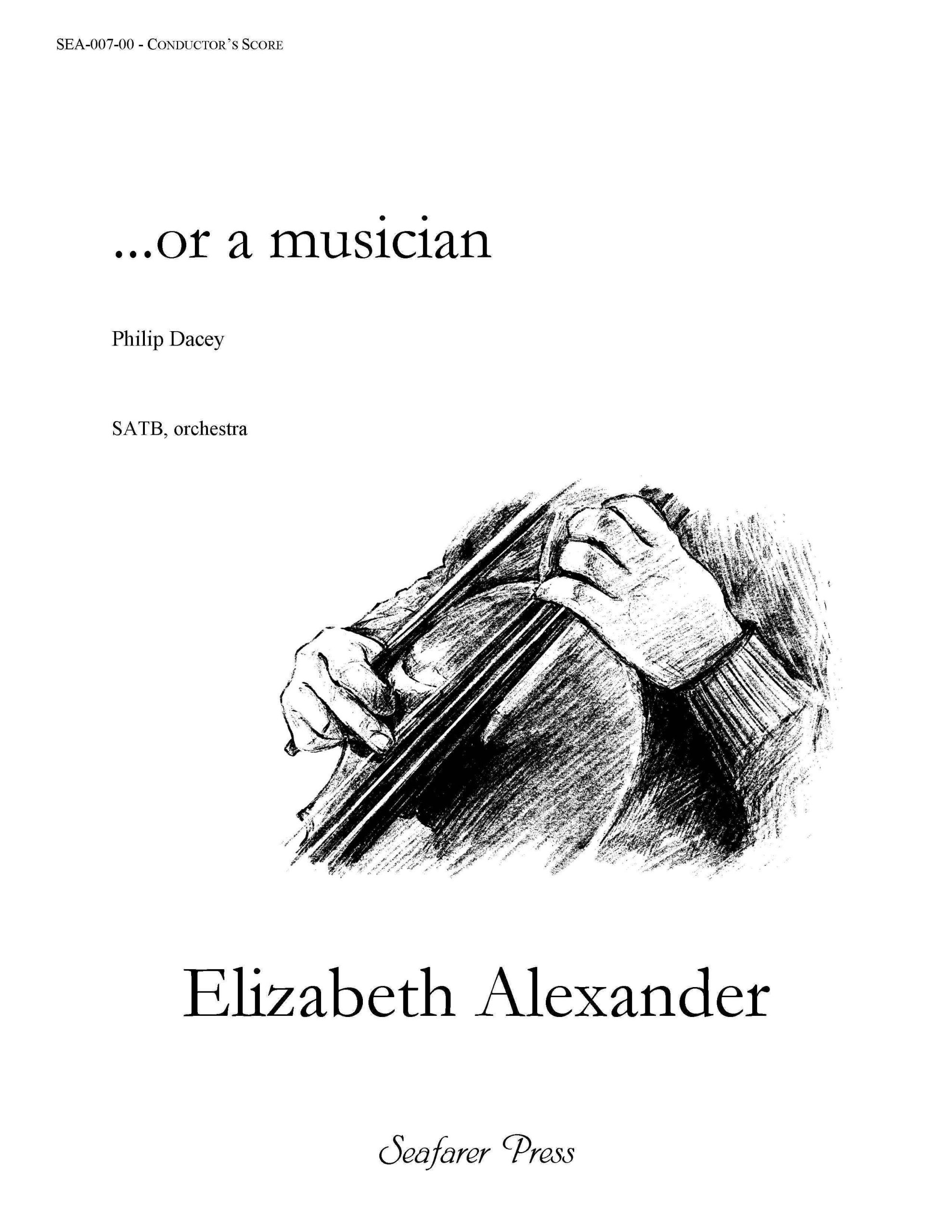 SEA-007-00 - ...or a musician