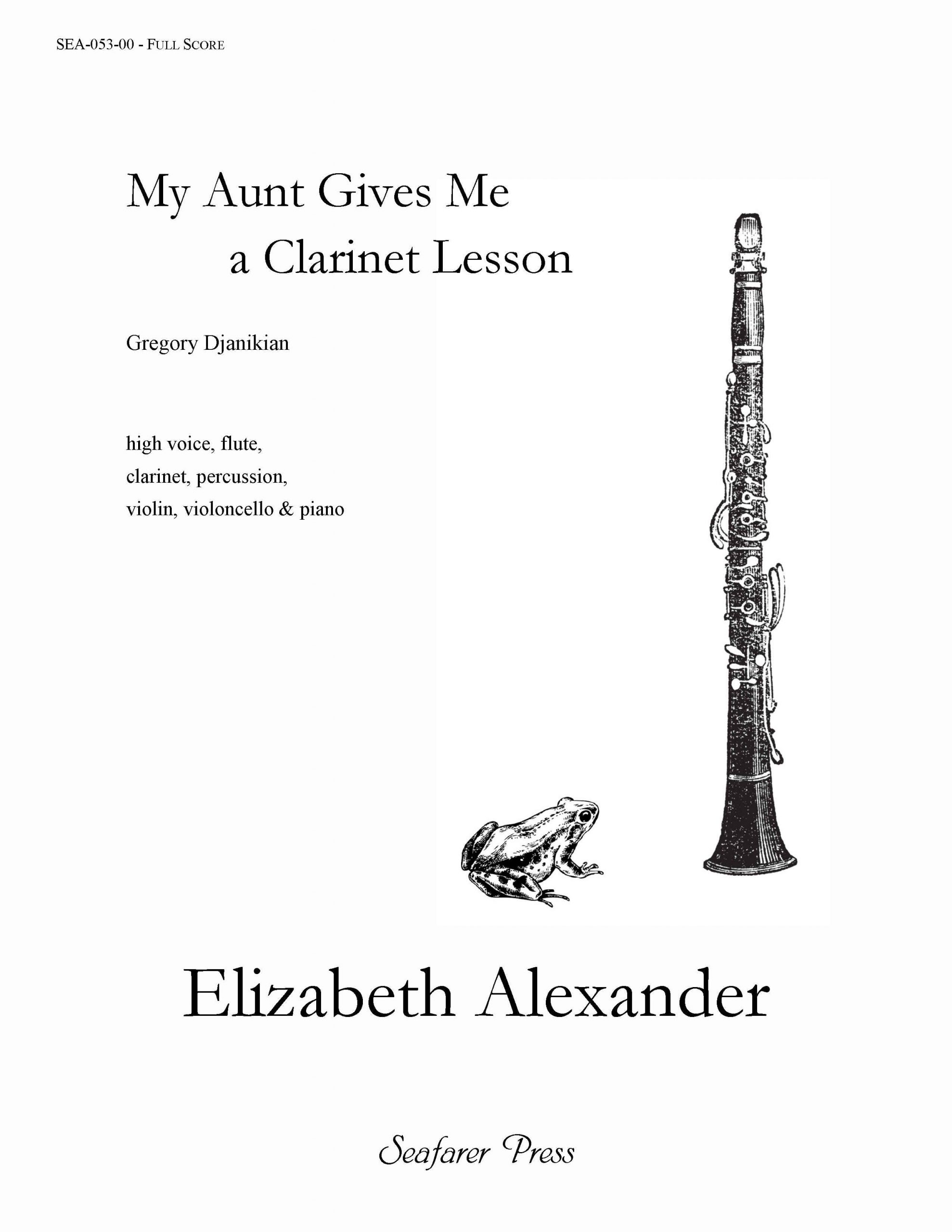 SEA-053-00 - My Aunt Gives Me a Clarinet Lesson