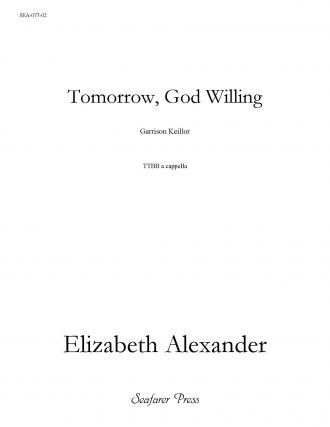 Tomorrow, God Willing