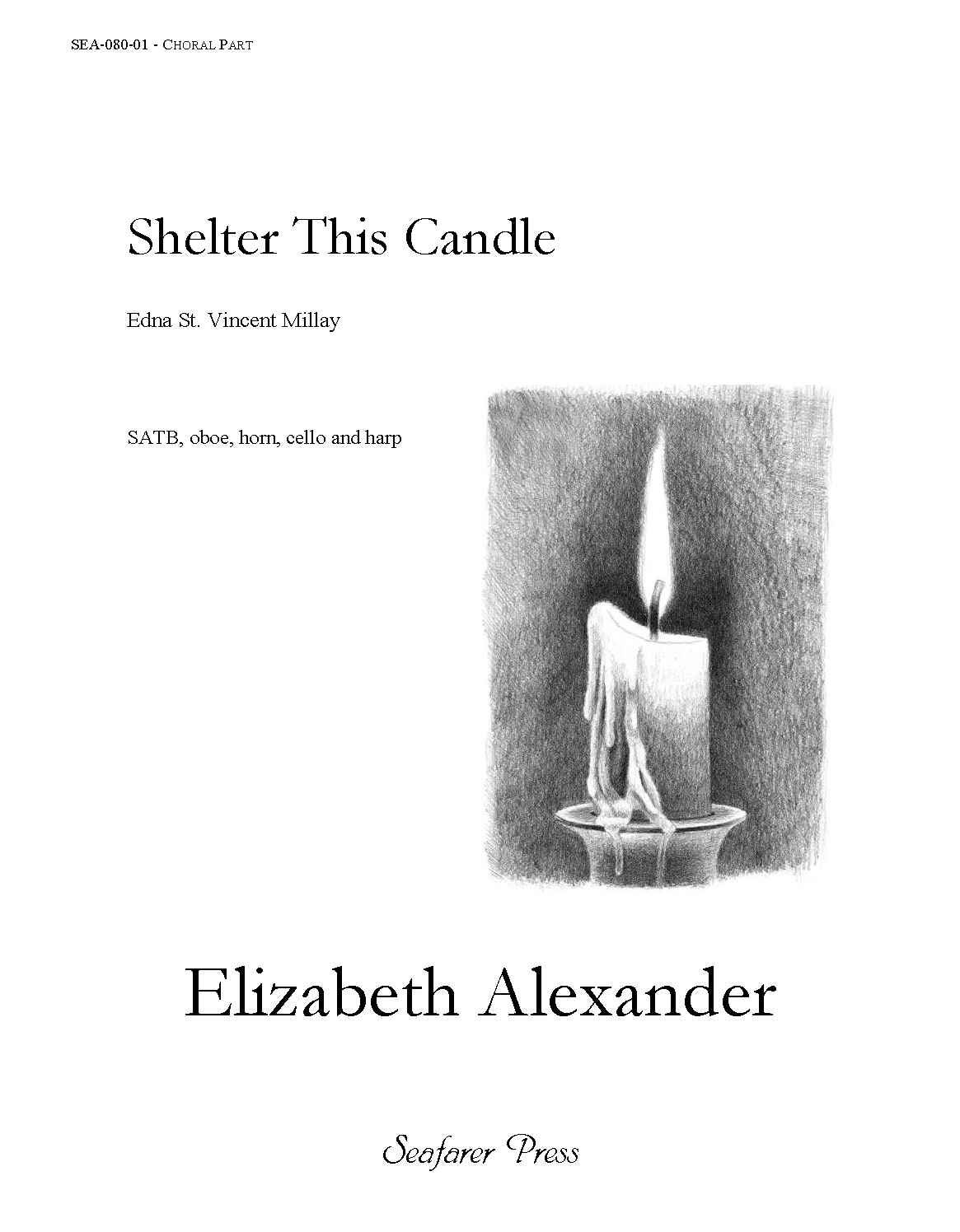 SEA-080-02F - Shelter This Candle