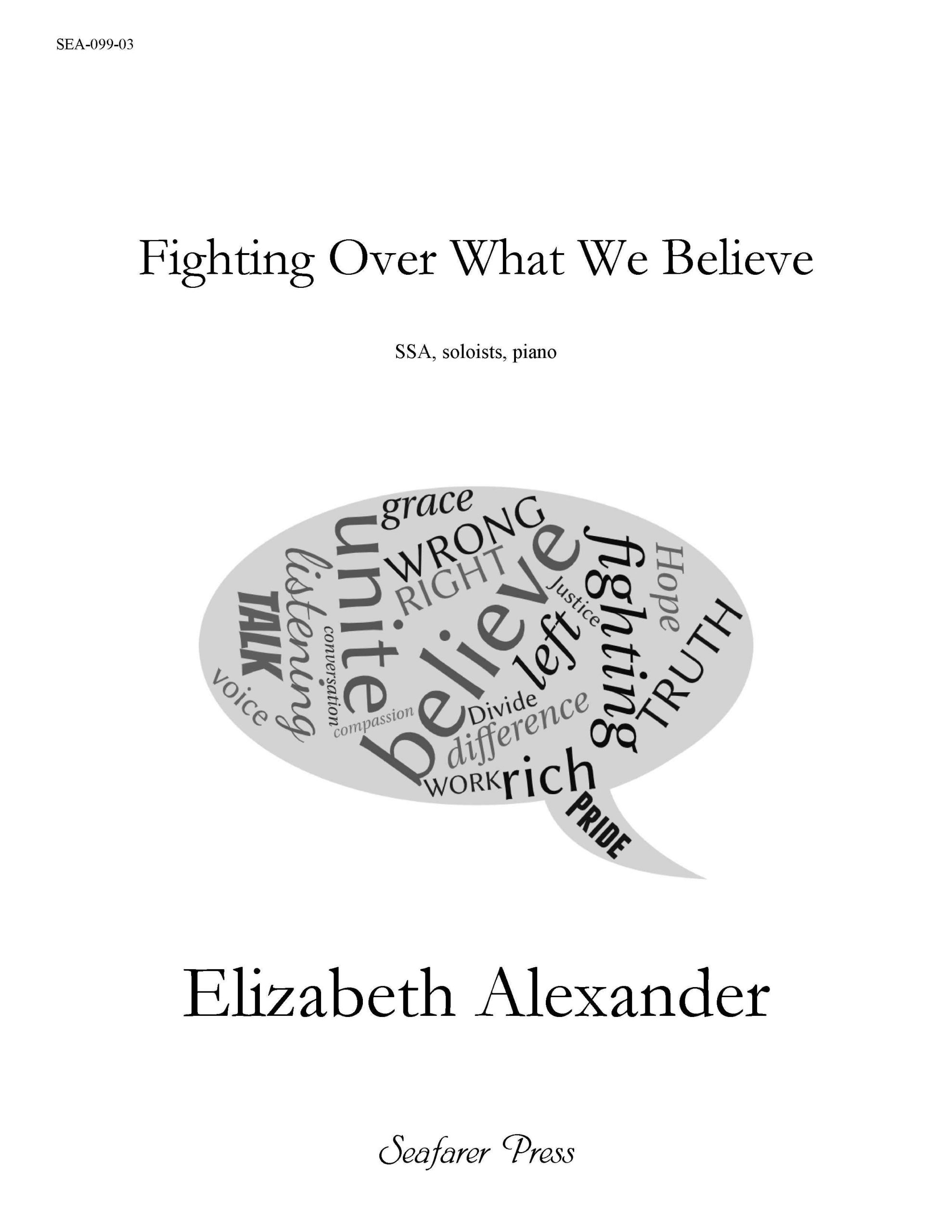 SEA-099-03 - Fighting Over What We Believe