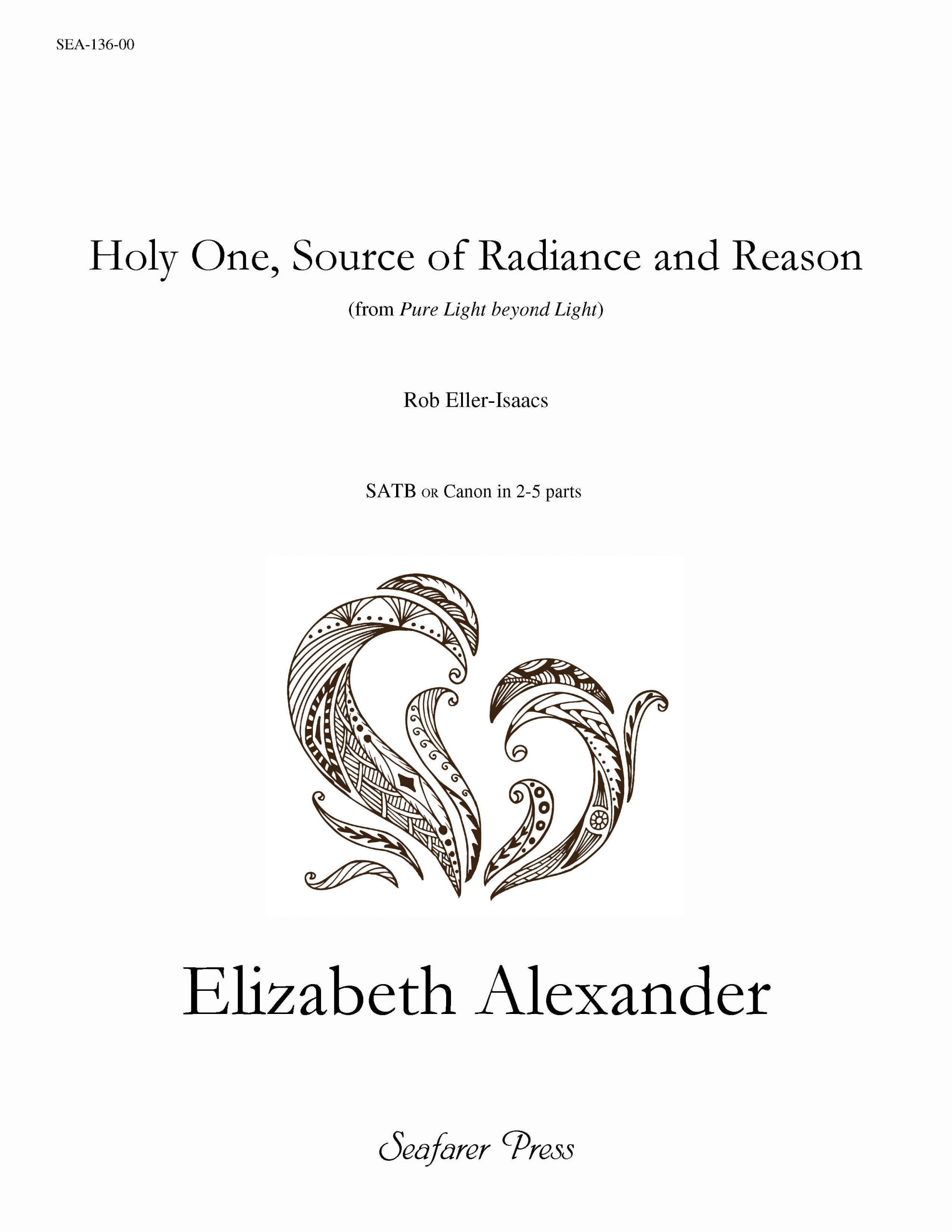 SEA-136-00 - Holy One, Source of Radiance and Reason