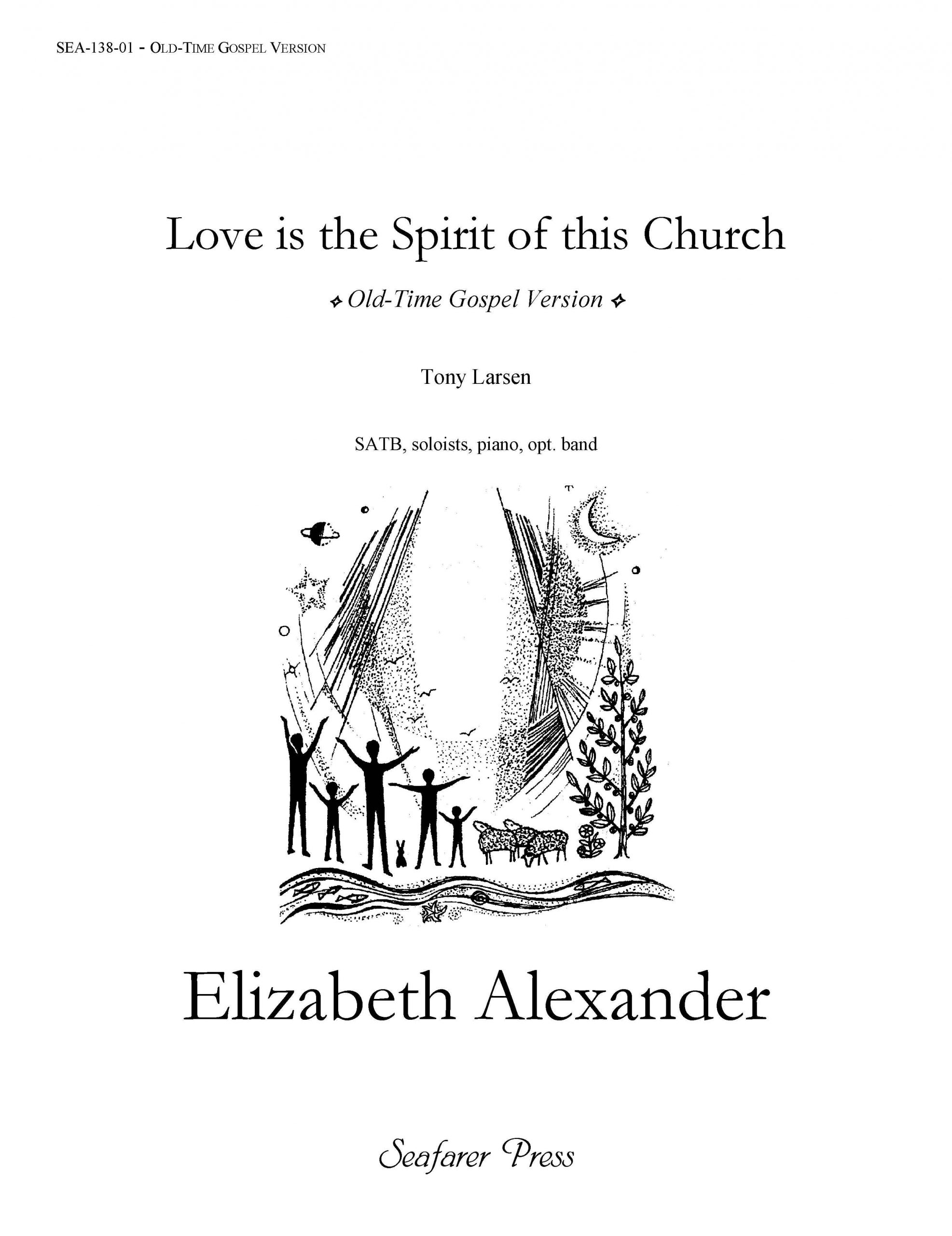 SEA-138-01 - Love is the Spirit of this Church